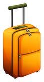Des bagages oranges illustration de vecteur