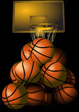 Des basket-balls Photographie stock