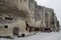 DES Baux de Château, França fotos de stock royalty free