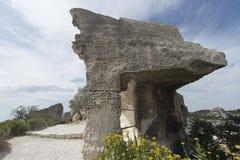 DES Baux, France de Château Image stock