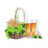 Des Bieres Leben noch Stockfotos