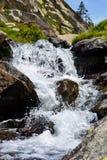 DES Bouillouses e Laca du Carlit da laca Imagem de Stock Royalty Free