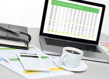 Des Büros Leben noch Lizenzfreie Stockfotos