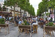DES Champs-Elysees d'avenue Photographie stock libre de droits