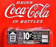 Des choses sont mieux assorties au coke ! photographie stock