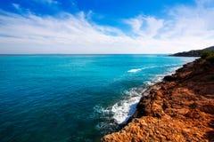DES Codolar d'Ibiza Platja et DES Falco de chapeau chez Balearics image libre de droits