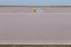 DES Crottes, Camargue de MAS de production de sel dans les Frances Image stock