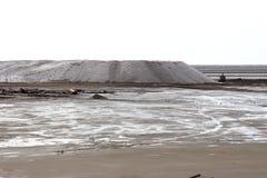 DES Crottes, Camargue, Francia di Salin du Mas Immagine Stock Libera da Diritti