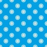 Des Download-Musters des Zeichens 100 nahtloses Blau Lizenzfreies Stockbild