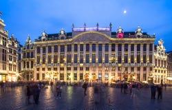 Des Ducs de Брабант Maison в Brussel, Бельгии Стоковое фото RF