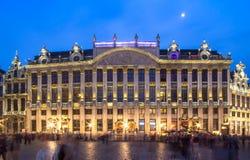 Des Ducs de Брабант Maison в Brussel, Бельгии Стоковые Изображения