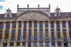 Des Ducs de Брабант Maison - грандиозное место, Брюссель, Бельгия Стоковые Фото