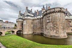 Des Ducs de Бретань замка в Нанте Стоковое фото RF