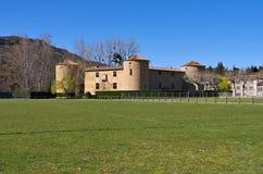 Des Ducs de Joyeuse замка Couiza замка Стоковое Изображение