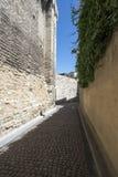 DES Escaliers Sainte-Anne da rua, Avignon, França Fotos de Stock Royalty Free