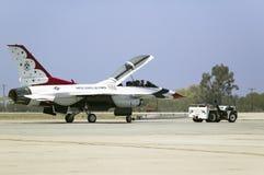 Des Falcons de combat de F-16C, Image libre de droits
