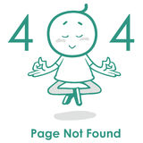 Des Fehler-404 Webseiten-Fehler Seitenaufstellungs-Vektor-Design-Website-kreativer des Konzept-404 vektor abbildung