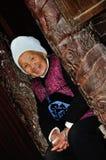Des femmes plus âgées de Miao Photographie stock