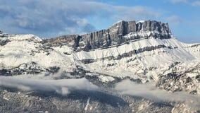 DES Fiz - le alpi francesi di Les Rochers Immagine Stock