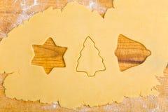Des formes plus mignonnes de biscuit différent image stock