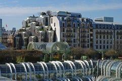 des forum halles Παρίσι όψη Στοκ φωτογραφίες με δικαίωμα ελεύθερης χρήσης