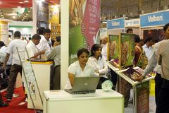 Des Fotos Ausstellung heute - Bangalore 2011 Lizenzfreie Stockfotografie