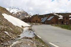 Des Fourches лагеря, морские Альпы в Франции стоковые изображения