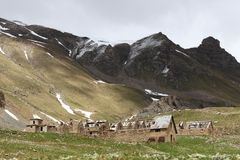 Des Fourches лагеря, морские Альпы, Франция стоковая фотография rf