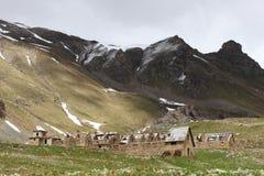 DES Fourches, Alpes maritimes, Frances de camp Photographie stock libre de droits