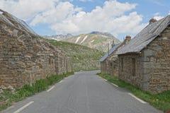 DES Fourches, Parc du Mercantour nazionale, Francia del campo Fotografia Stock