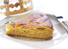 des galette rois片式 库存图片
