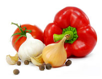 Des Gemüses Leben noch Stockfotos