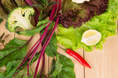 Des Gemüses Leben noch Stockfoto