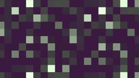 Des glänzenden hellen bewegender Hintergrund Pixel-Blockes der Zusammenfassung Abstraktes Pixelblockbewegen vektor abbildung