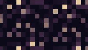 Des glänzenden hellen bewegender Hintergrund Pixel-Blockes der Zusammenfassung Abstraktes Pixelblockbewegen lizenzfreie abbildung