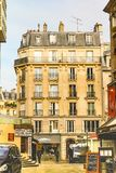 Des Halles quarter in Paris, nice ambiance Stock Photo