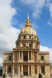des hotel invalides Παρίσι Στοκ φωτογραφίες με δικαίωμα ελεύθερης χρήσης