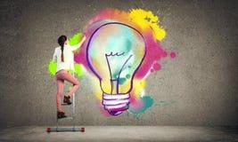 Des idées plus créatives Photo stock