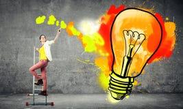 Des idées plus créatives Image libre de droits