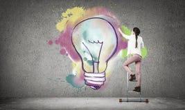 Des idées plus créatives Photo libre de droits
