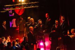 Des impressions de nous aimons Muttahida Majlis-e-Amal 34, Hambourg, Allemagne Photo libre de droits