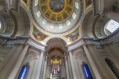Des Invalides гостиницы, Париж, Франция Стоковая Фотография