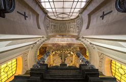 Des Invalides гостиницы, Париж, Франция Стоковое Изображение