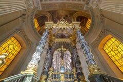 Des Invalides гостиницы, Париж, Франция Стоковые Изображения