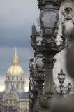 DES Invalides de dôme d'architecture de Frances de Paris Photos libres de droits