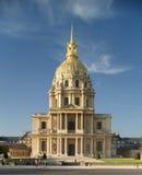 DES Invalides de París, St. Louis de la iglesia Imágenes de archivo libres de regalías