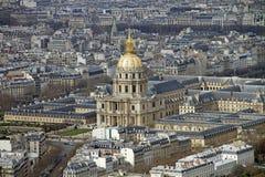 DES Invalides, Parigi della cupola Fotografia Stock