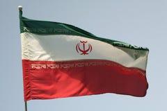 Des Irans Markierungsfahne Stockfotos