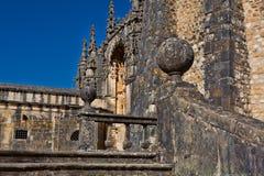 Des 12. Jahrhundertstemplar-Kirche am Kloster von Christus in Tomar- Lizenzfreies Stockbild