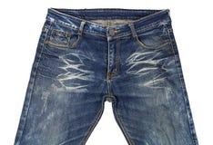 Des jeans sont admirablement détaillés Photos libres de droits